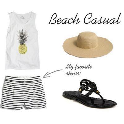 Beach Casual Inspo
