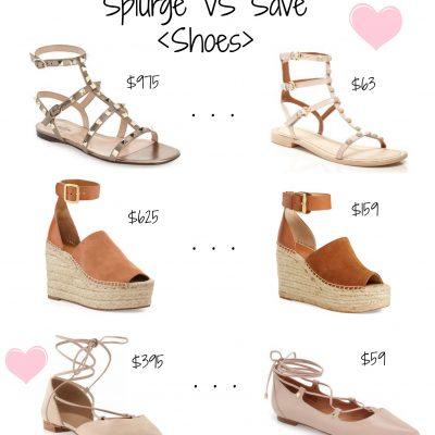 Splurge vs. Save: Shoes & Handbags