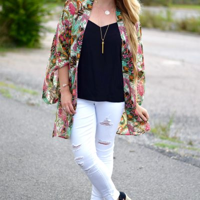 How to Style a Kimono From Summer to Fall