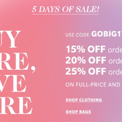 Spring Wishlist + Shopbop Sale